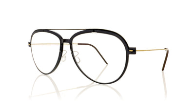Lindberg n.o.w titanium 6547 C06-PU9-T802-PGT Polished Black Glasses