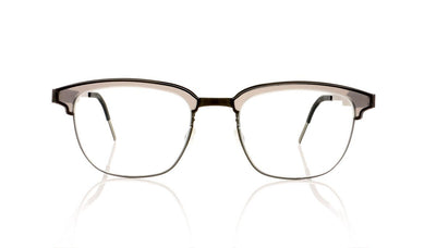 Lindberg Strip 9824 K139/PU9-T406 Clear Grey Glasses