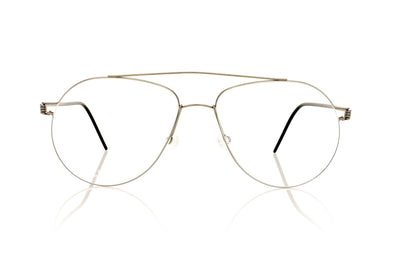 Lindberg Air Titanium rim Raymond P10/K24/P10 Silver With Black Temples Glasses