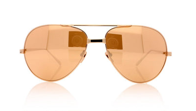 Linda Farrow LFL/128 C6 Lf Rose Gld Sunglasses