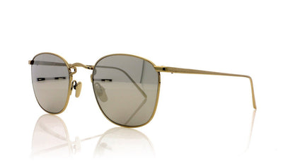 Linda Farrow LFL/479 C2 White Gold Sunglasses