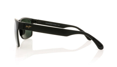 Maui Jim MJ432 2M Mj Matte Black Sunglasses