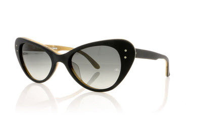 Oliver Goldsmith Grace 1 Matte Black Sunglasses