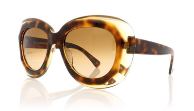 Oliver Goldsmith Norum 15 Tort Tea Sunglasses