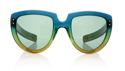 Oliver Goldsmith Y-Not 17 Green Rainbow Sunglasses