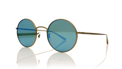 Oliver Peoples After Midnight 0OV1197ST 5254W3 Brushed Silver Sunglasses