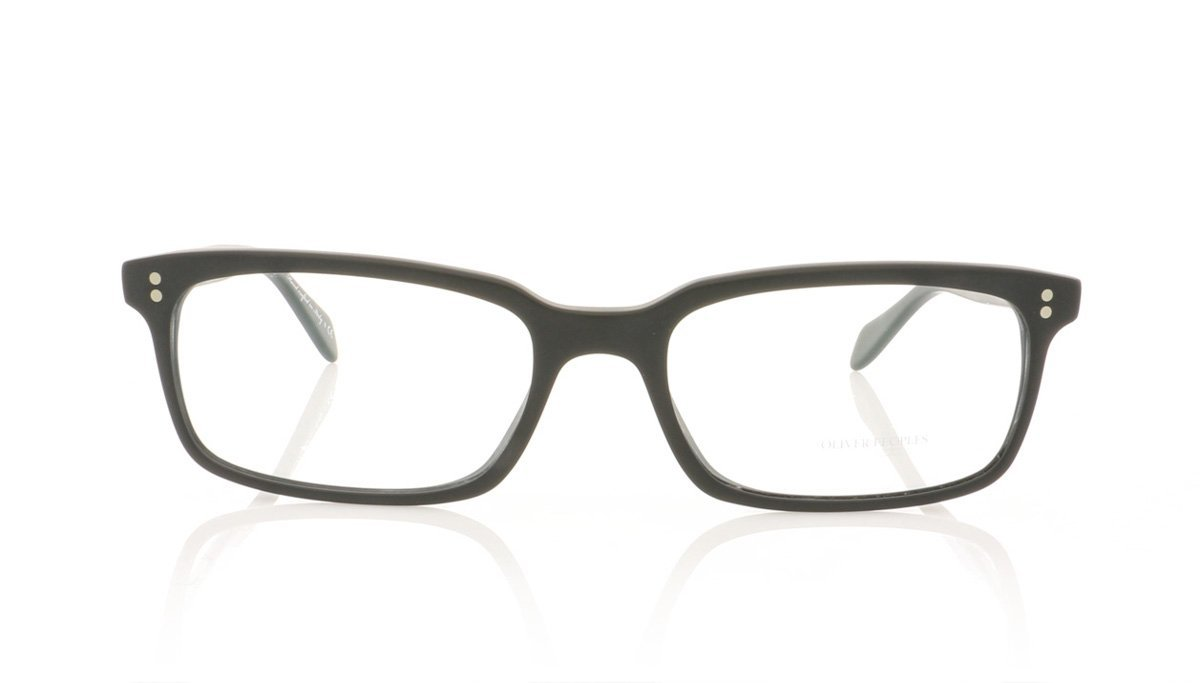 71d04bae5a Oliver Peoples Denison OV5102 1031 Matte Black Glasses at OCO