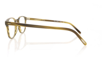 Oliver Peoples Fairmont OV5219 1318 Matte Moss Tortoise Glasses at OCO