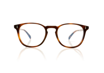 Oliver Peoples Finley Esq. OV5298U 1552 Semi Matte Dark Mahogany Glasses at OCO