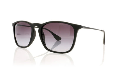 Ray-Ban Chris RB4187 622/8G Rubber Black Sunglasses