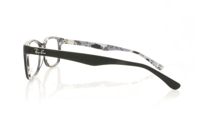 Ray-Ban 0RX5228 5405 Top Mat Black On Tex Camuflage Glasses