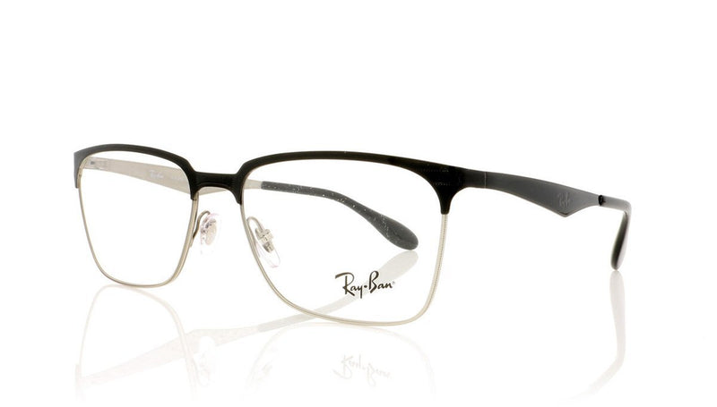 df96250217 Ray-Ban RB6344 Glasses. Top Black Silver