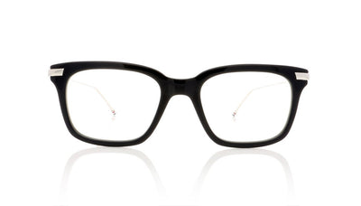Thom Browne TB-701 H Navy Silver Glasses