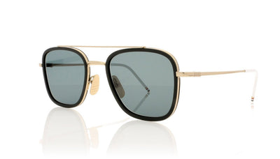 Thom Browne TB-800 A Shiny 12K Gold Sunglasses at OCO