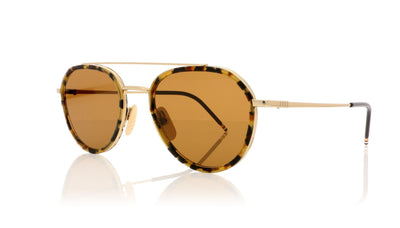 Thom Browne TB-801 H Gold Sunglasses at OCO