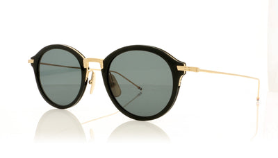 Thom Browne TBS908 TBS908-49-01 BLK-GLD Black Sunglasses at OCO