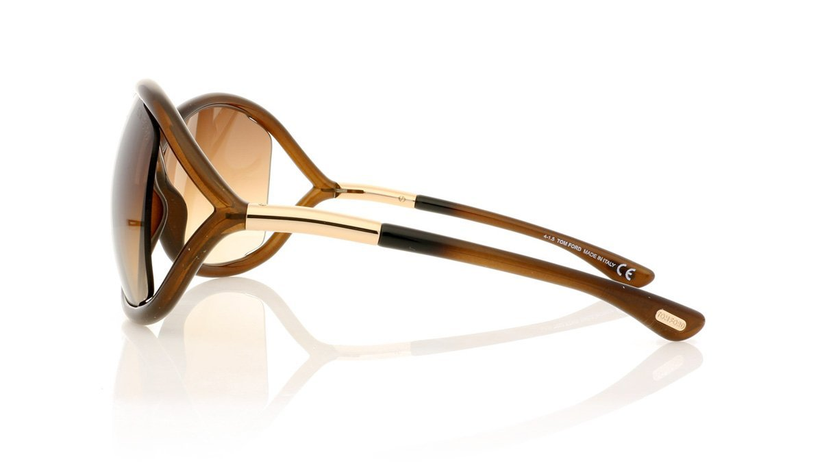 eb2d780316b52 Tom Ford Whitney TF9 S 692 Brown Sunglasses at OCO
