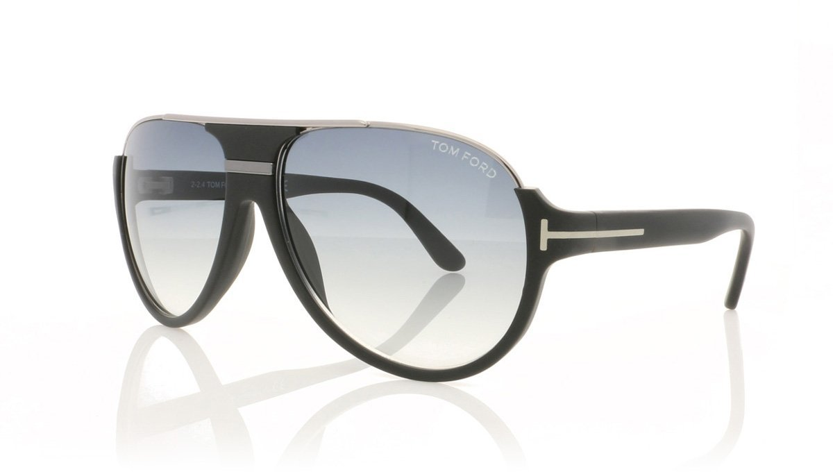 c4f28d6312e Tom Ford Dimitry TF334 02W Matte Black Sunglasses
