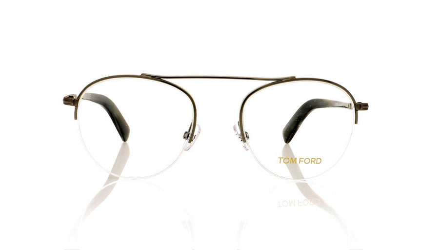 a119ba70ad0b Tom Ford TF5451 012 Shiny Dark Ruthenium Glasses