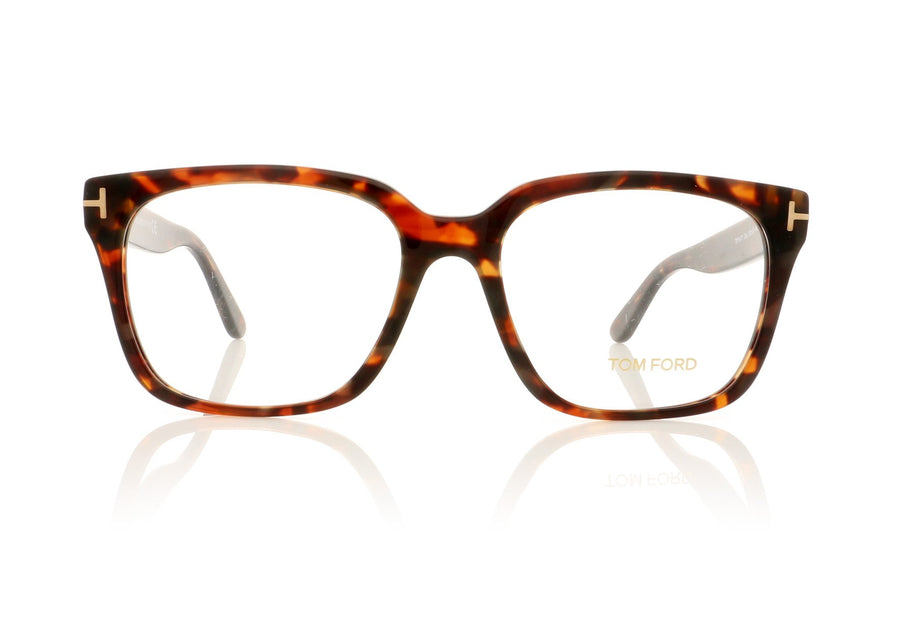 d39298ec94cf Tom Ford TF5477 054 Red havana Glasses at OCO