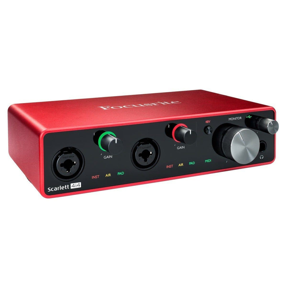 Focusrite Scarlett 4i4 USB Interface (3rd Gen)