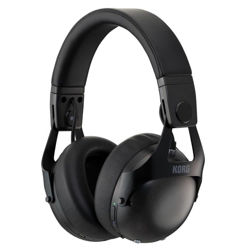 Korg NCQ1-BK Smart Noise Cancelling Headphones, Black