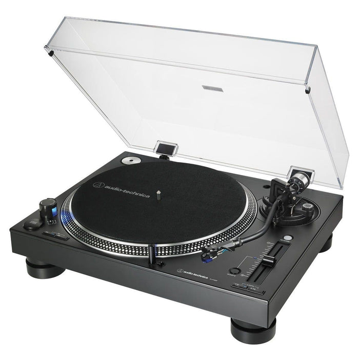 Audio Technica AT-LP140XP Direct Drive DJ Turntable, Black