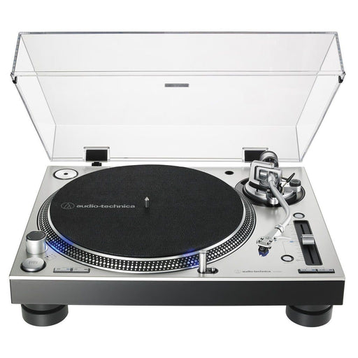 Audio Technica AT-LP140XP Direct Drive DJ Turntable, Silver