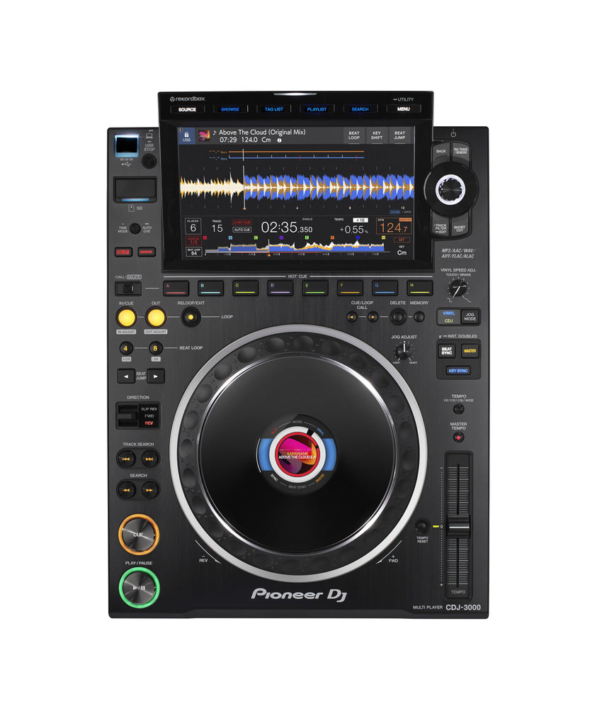 PIoneer DJ CDJ 3000 - Professional Multi Player