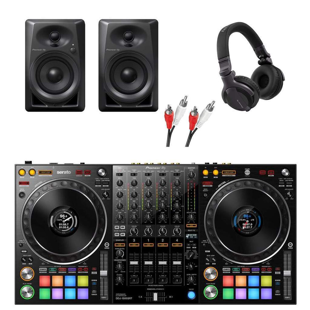 PIONEER DJ DDJ 1000SRT SERATO DJ PACKAGE - LOW RANGE