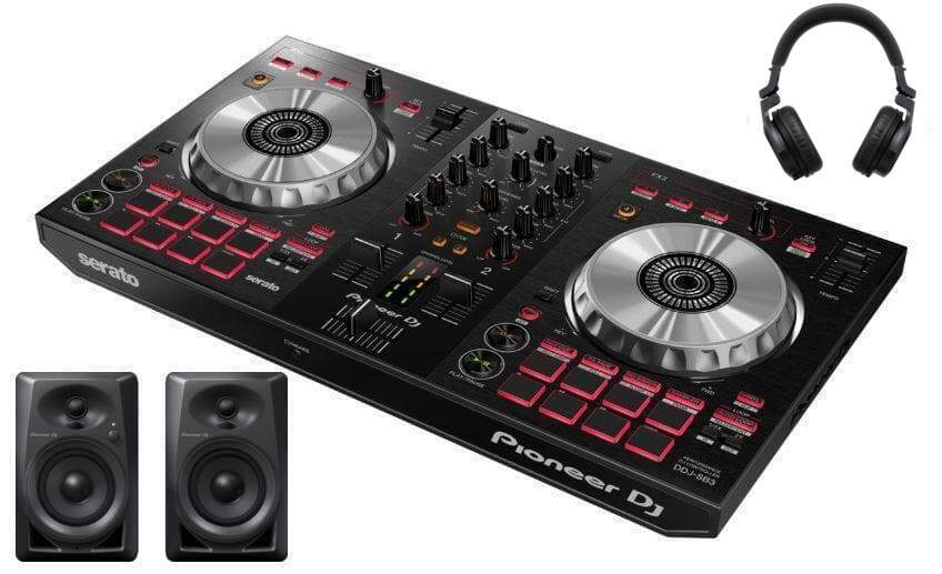 PIONEER DJ DDJ SB3 SERATO DJ PACKAGE - HIGH RANGE