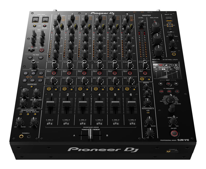 DJM V10 6 Channel Professional DJ Mixer