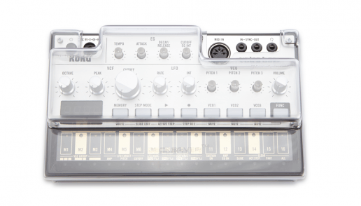 Decksaver Korg Volca Series cover (Fits: Keys, Bass, Beats, Sample,FM)