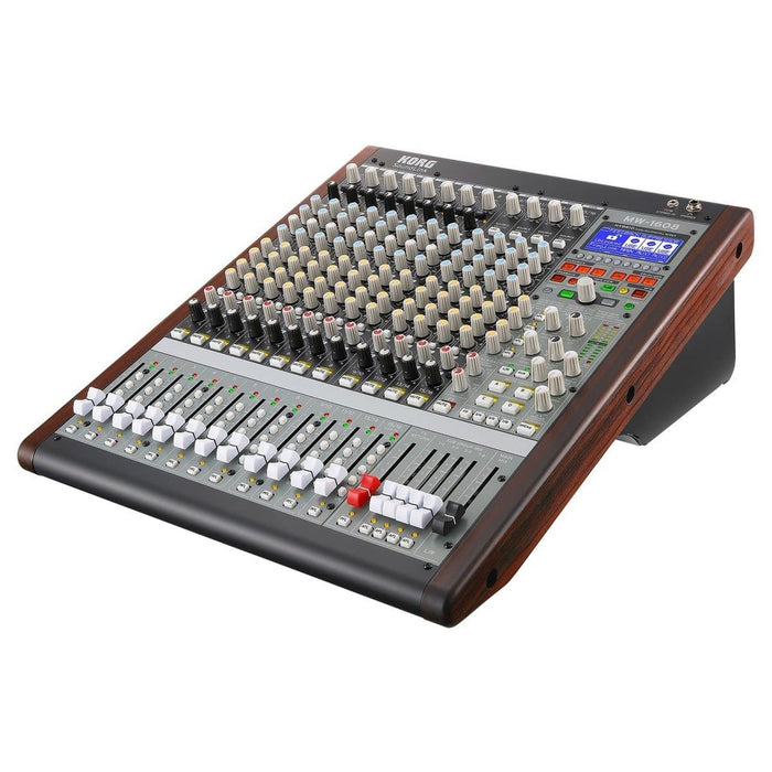 KORG SOUNDLINK MW1608 HYBRID ANALOGUE / DIGITAL  MIXER