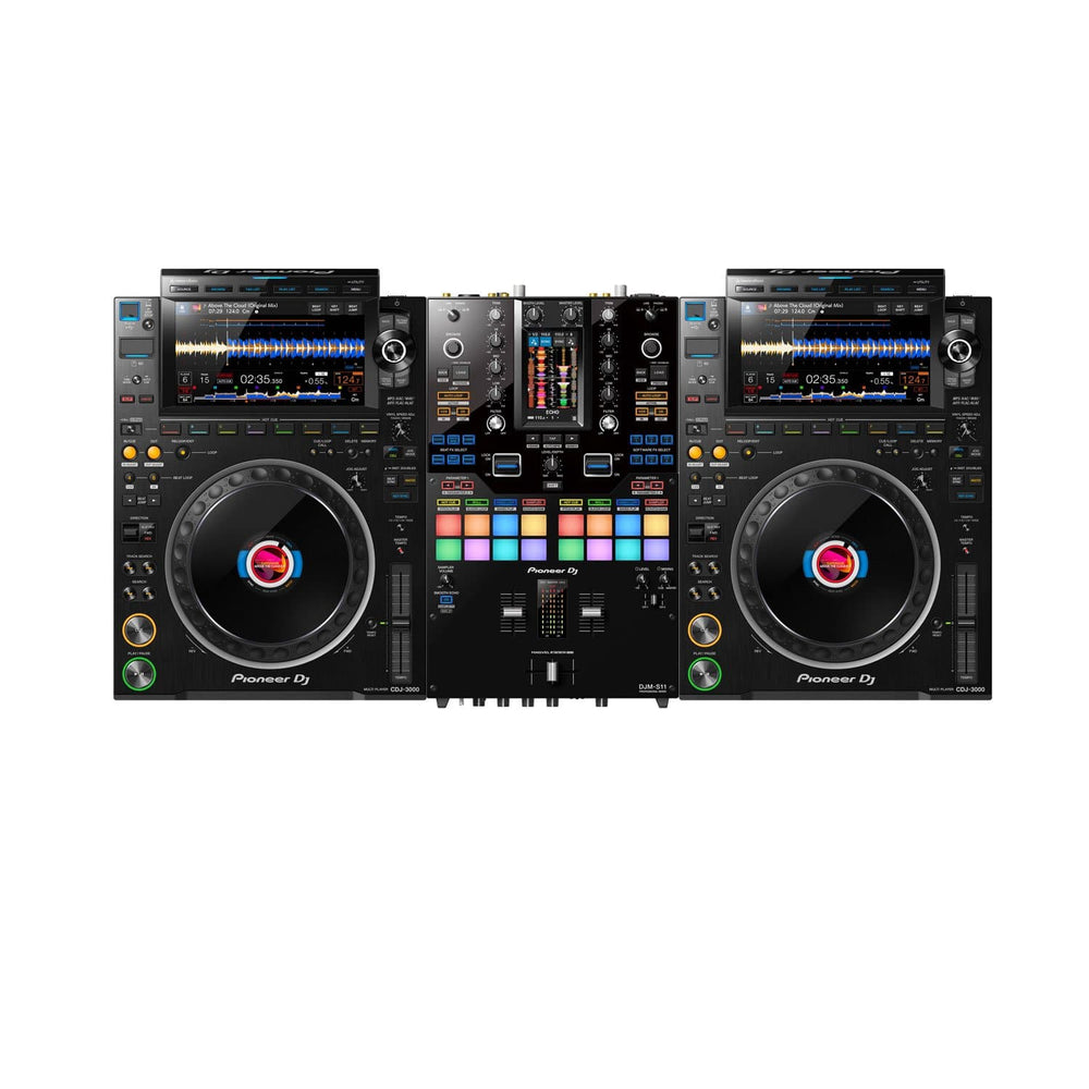 PIONEER DJ SCRATCH PACKAGE 4 - DJM S11 - CDJ 3000