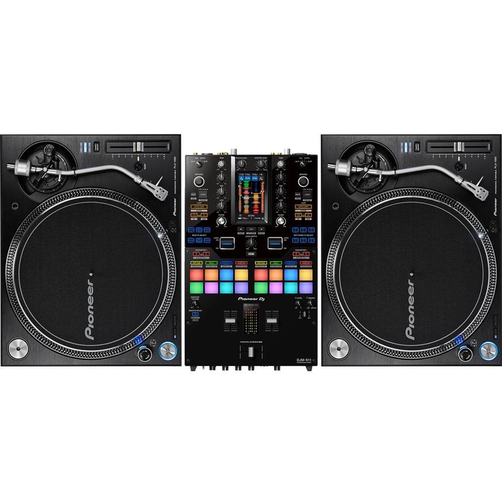 PIONEER DJ SCRATCH PACKAGE 3 - DJM S11 - PLX 1000