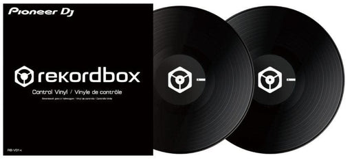 Pioneer DJ RB-VD1-K - Control Vinyl for rekordbox dj. - Pair