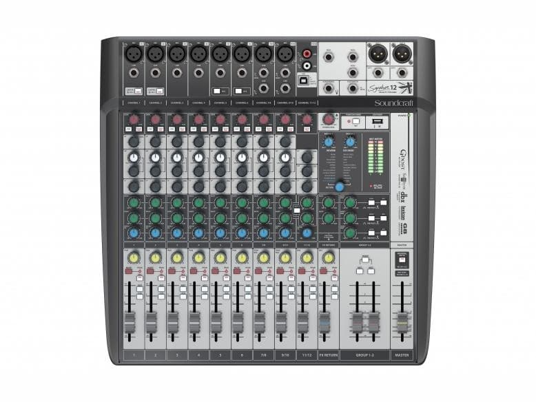 Soundcraft - Signature 12 MTK Analogue USB Mixer