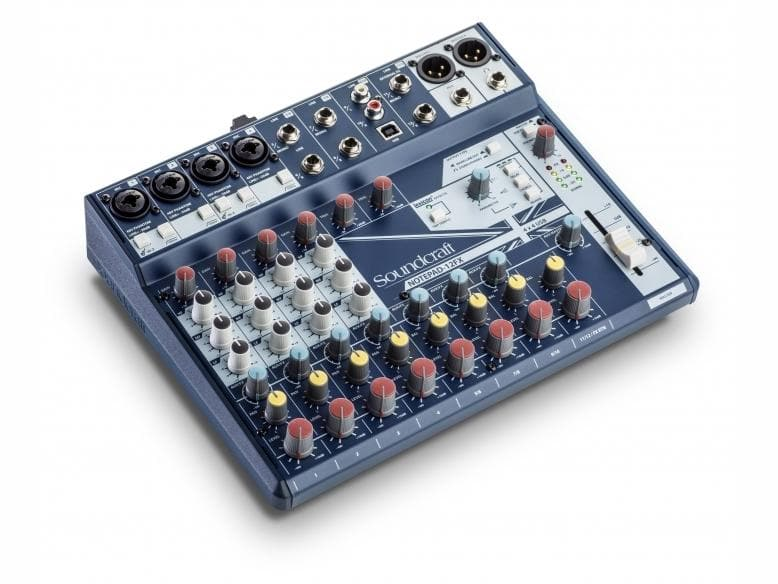 Soundcraft - Notepad-12FX Analogue USB Mixer