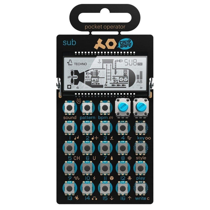 PO-14 sub Pocket Operator - Bassline Synthesizer & Sequencer