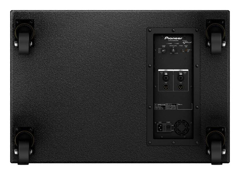 Pioneer XPRS 215S - Twin 15 inch active subwoofer