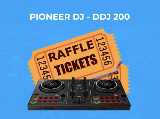 Synthetic Casino Birthday Raffle - PIoneer DJ DDJ 200 - T shirts & More
