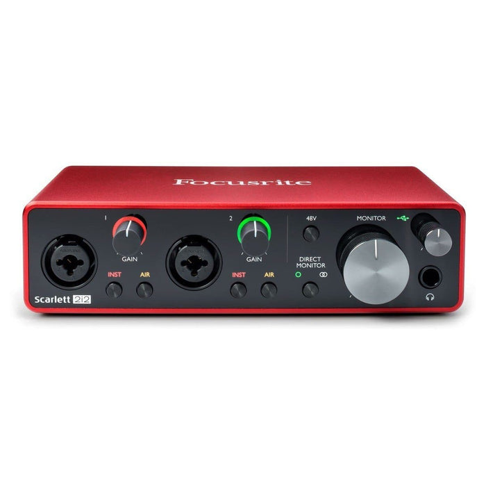 Focusrite Scarlett 2i2 USB Interface (3rd Gen)