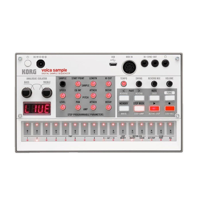 Korg Volca Sample 2 (2020) - Digital Sample Sequencer