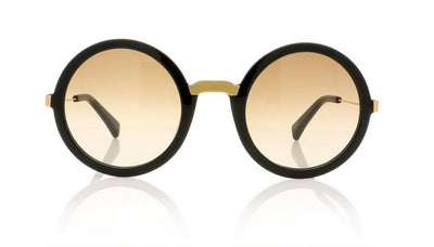 AM Eyewear Steph 100 BL-SM Black Sunglasses at OCO