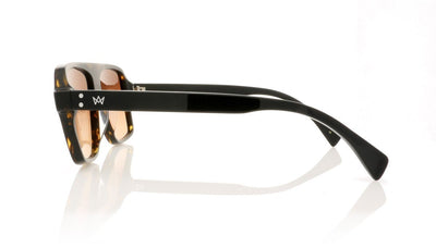 AM Eyewear Bobby B 85 GT-BRG Tort Sunglasses at OCO