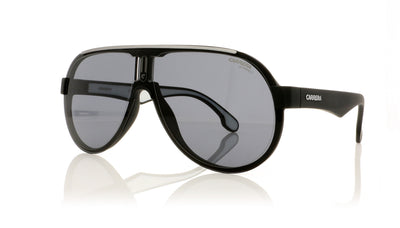 Carrera 1008/S 003IR Mtt Black Sunglasses at OCO