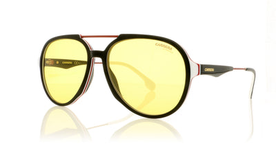 Carrera 1012/S GUUHO Black Burgundy Sunglasses