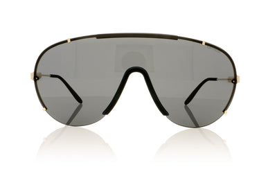 Carrera 129/S J5GP9 Gold Sunglasses