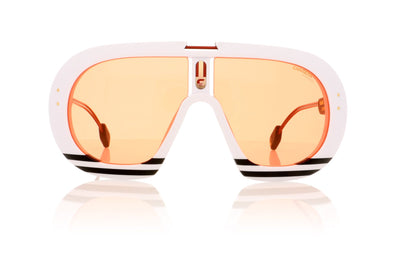 Carrera SKI-LL 4NLW9 White Sunglasses at OCO
